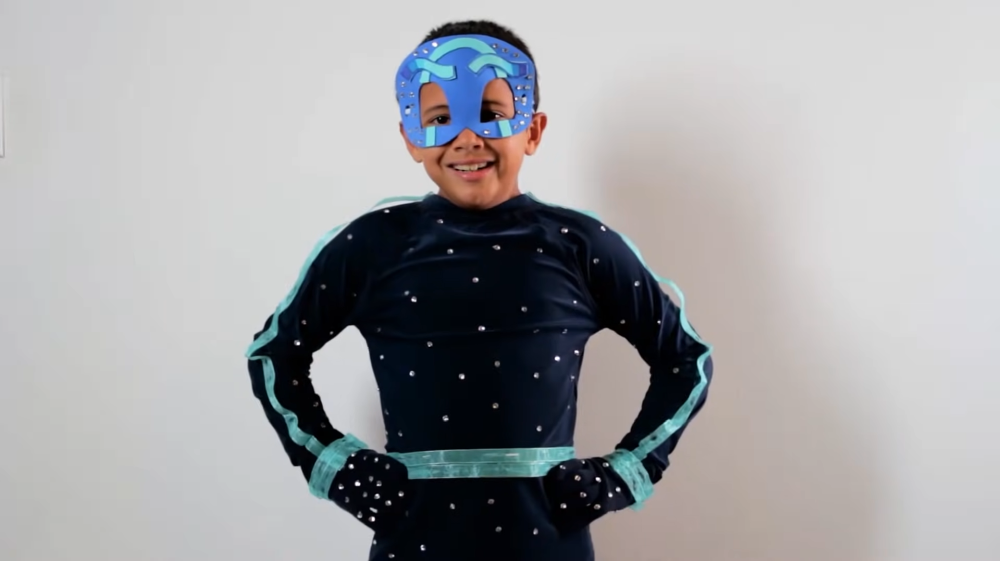Diy halloween costumes for kids night ninja