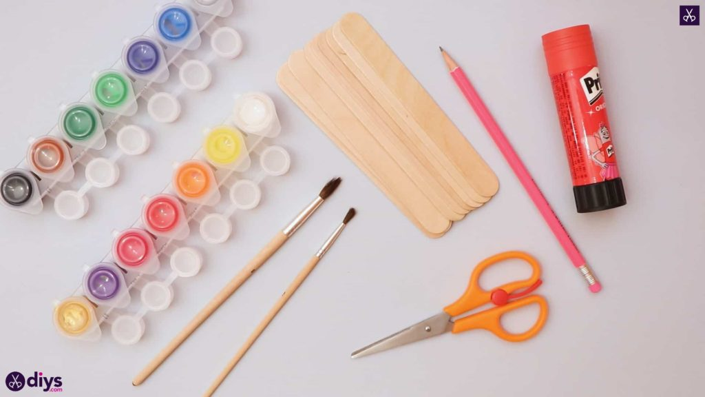 Diy popsicle stick house materials