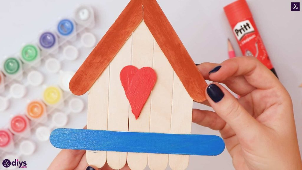 Diy popsicle stick house project