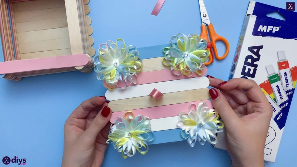 Diy popsicle stick jewelry box custom