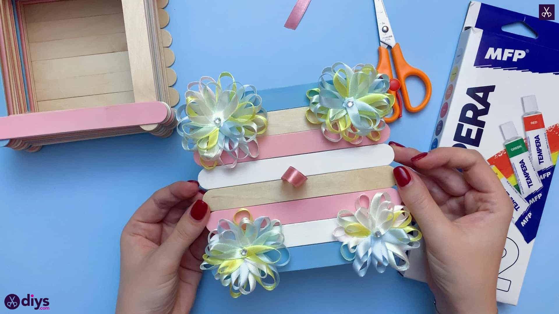 Diy popsicle stick jewelry box custom