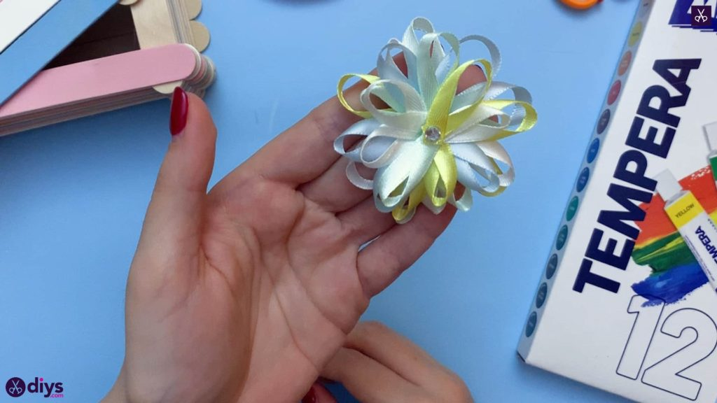 Diy popsicle stick jewelry box flower