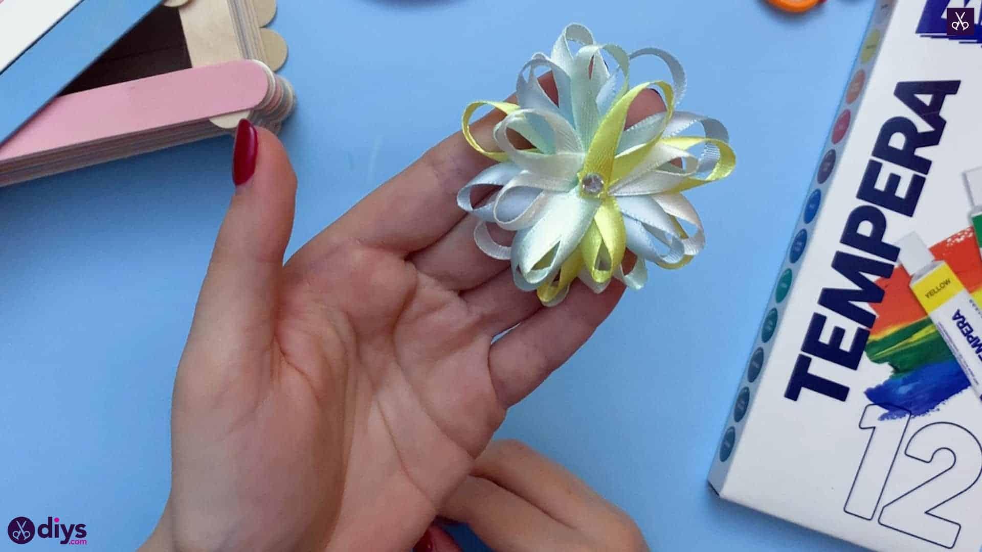 Diy popsicle stick jewelry box flower