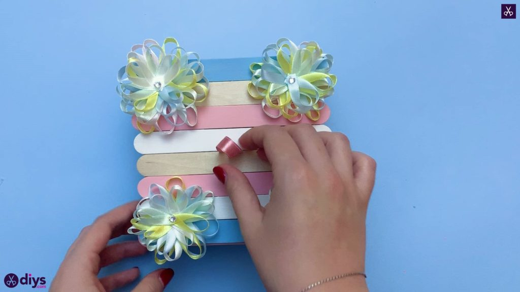 Diy popsicle stick jewelry box hanging