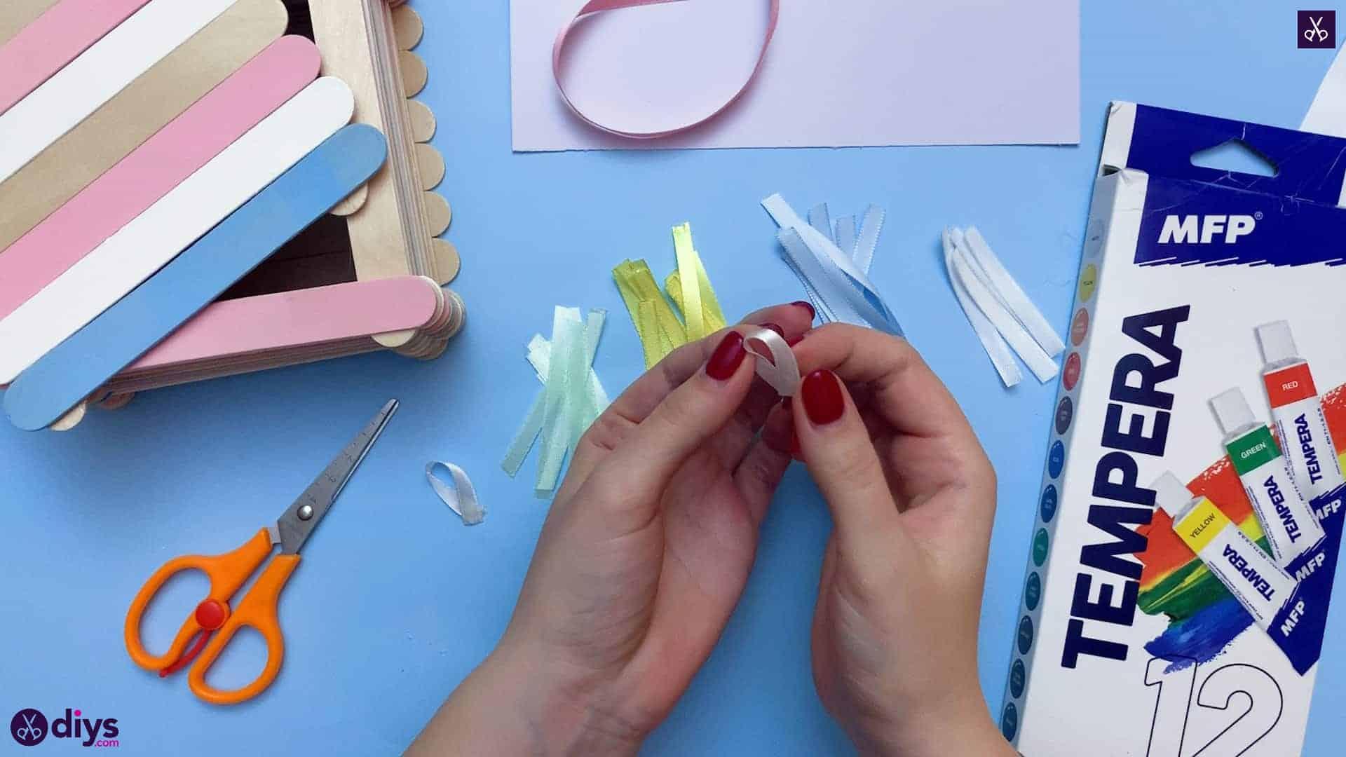 Diy popsicle stick jewelry box step 8