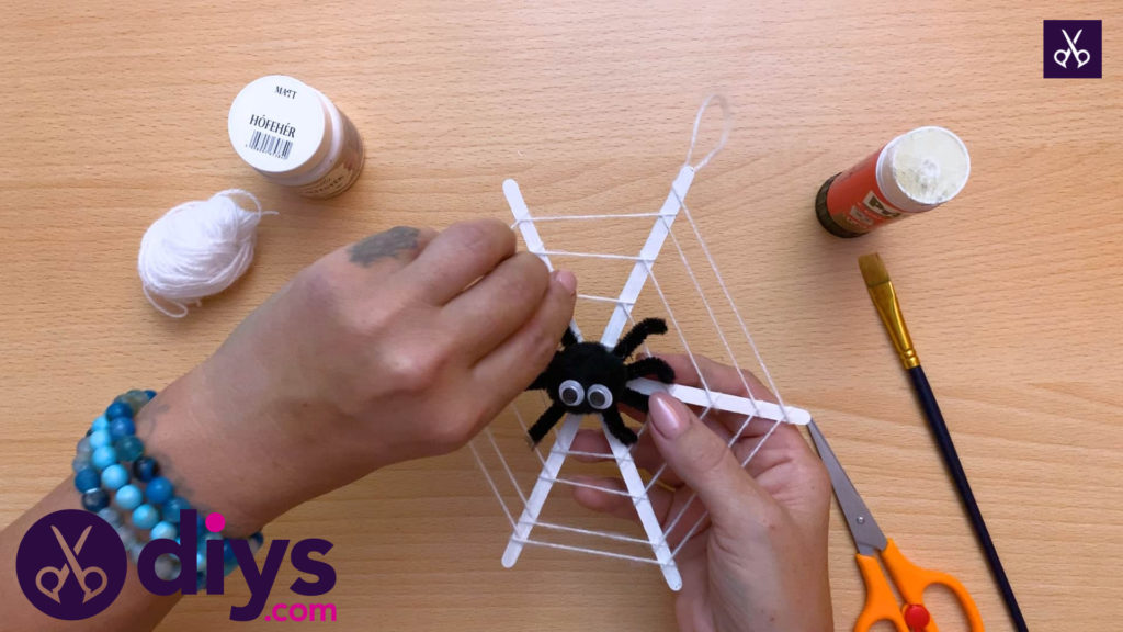Diy spider web decoration for halloween top