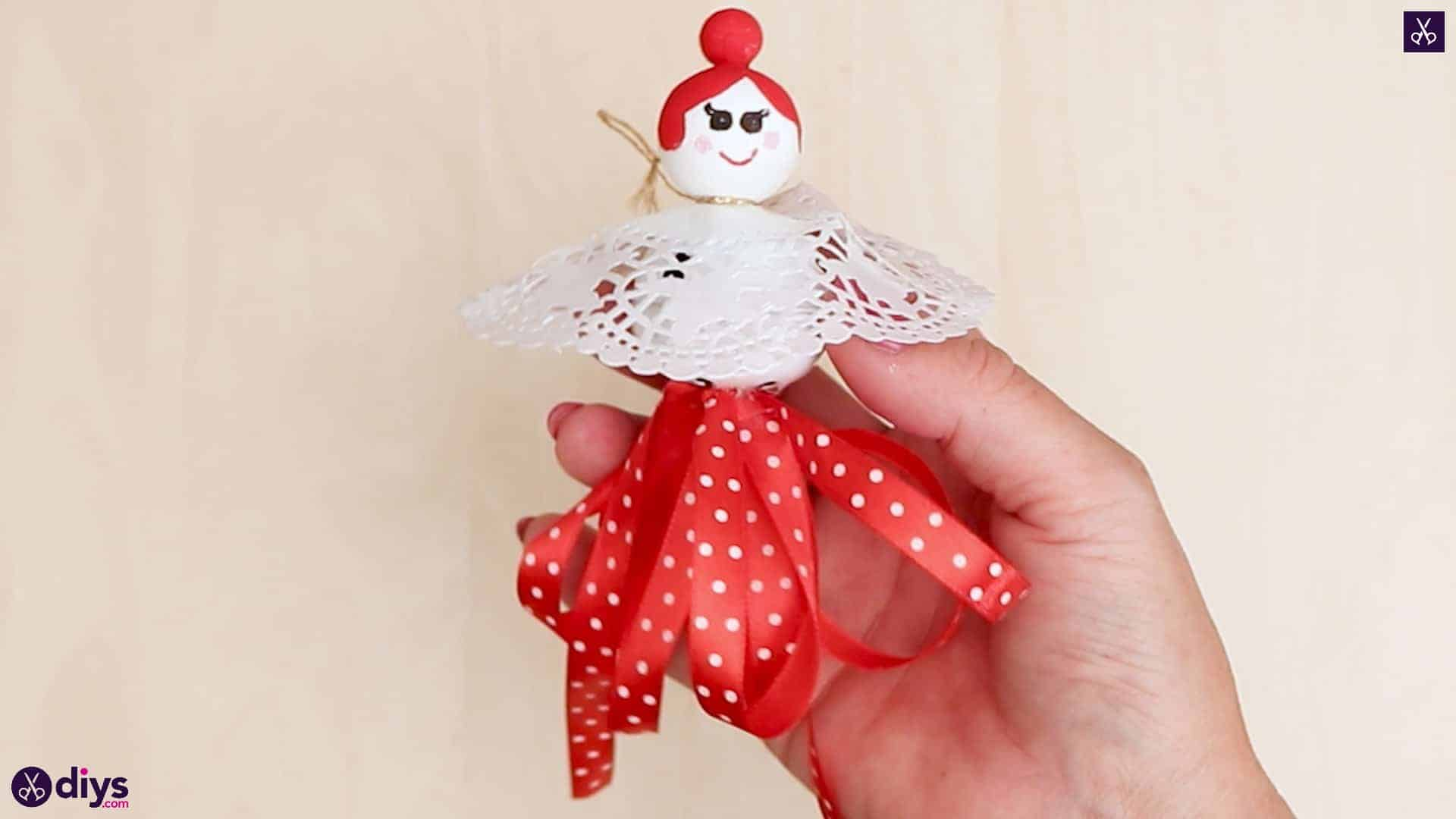 Doll ornament with bell hang