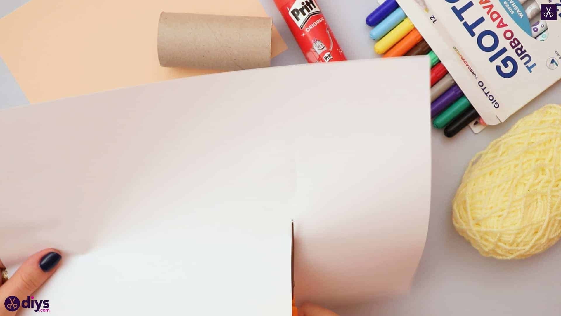 How to make a toilet paper roll angel cutting