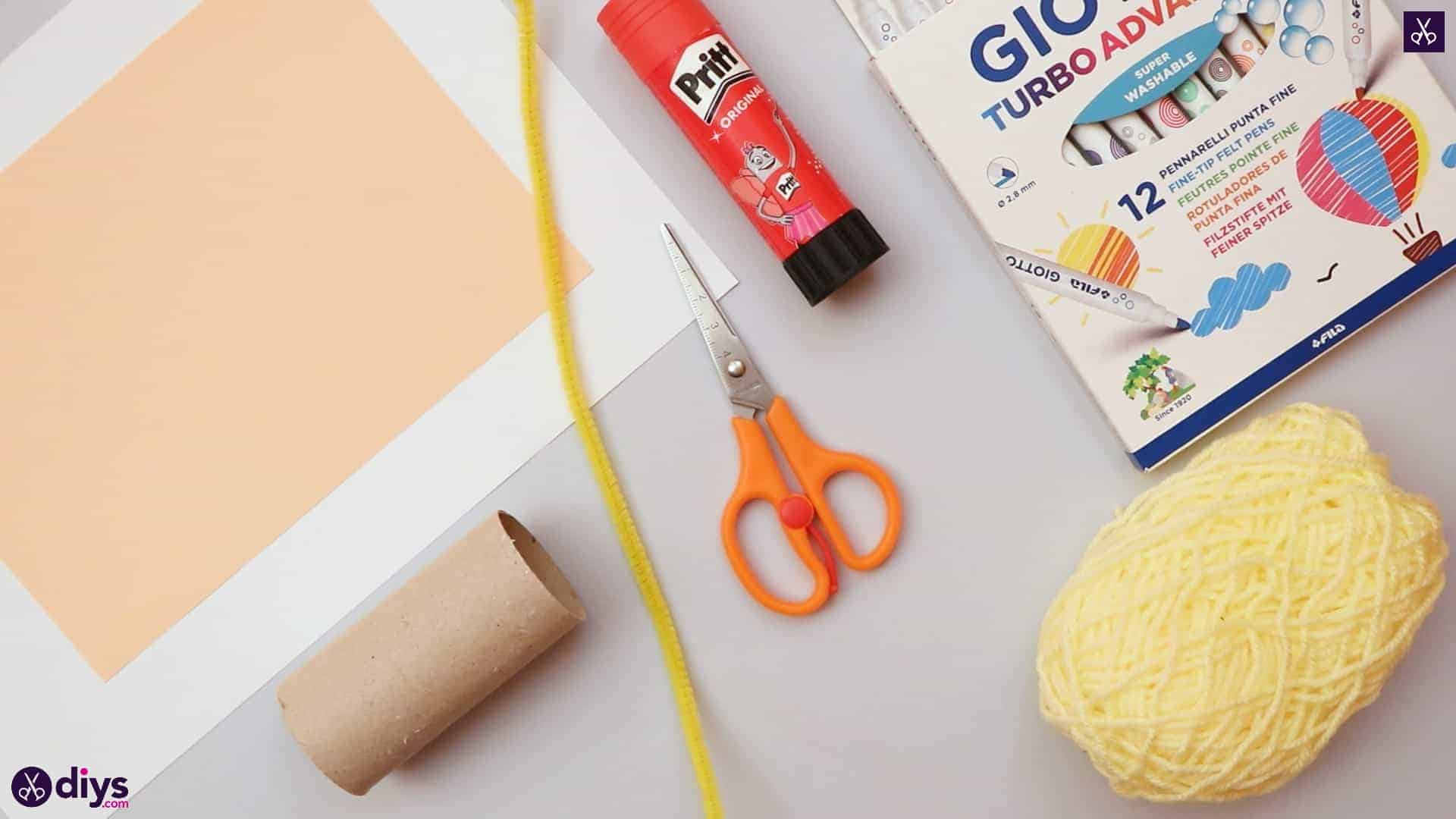 How to make a toilet paper roll angel materials