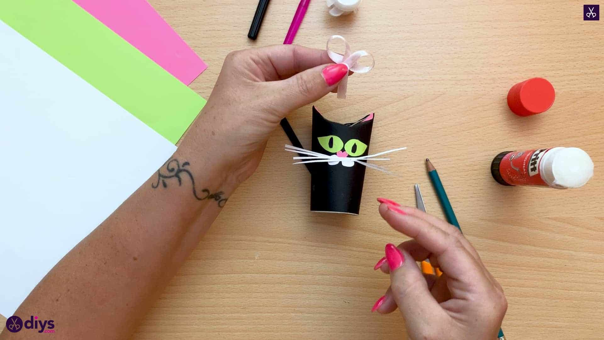 How to make a toilet paper roll cat crafts
