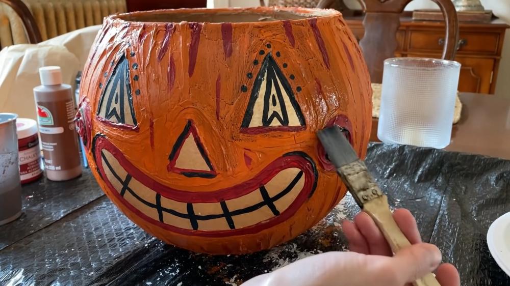 Jack o lantern no pumpkin idea
