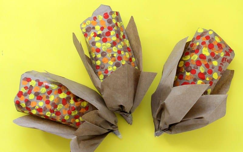 Thanksgiving corn snack packs