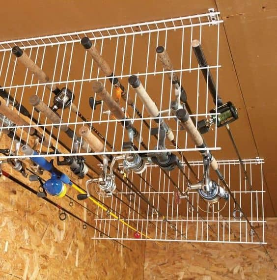 Diy fishing rod holders