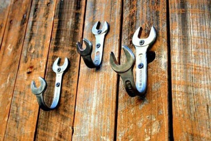 Diy wrench hooks