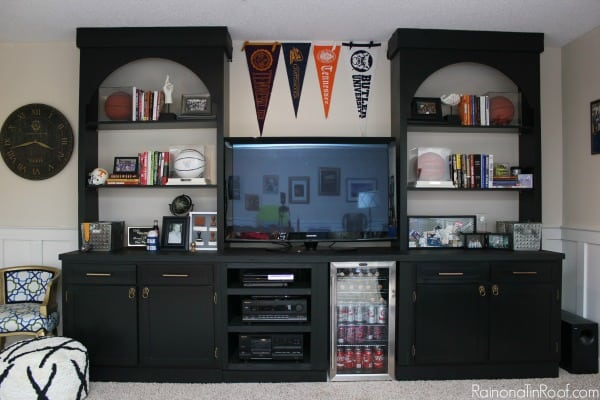 Man cave built in diy