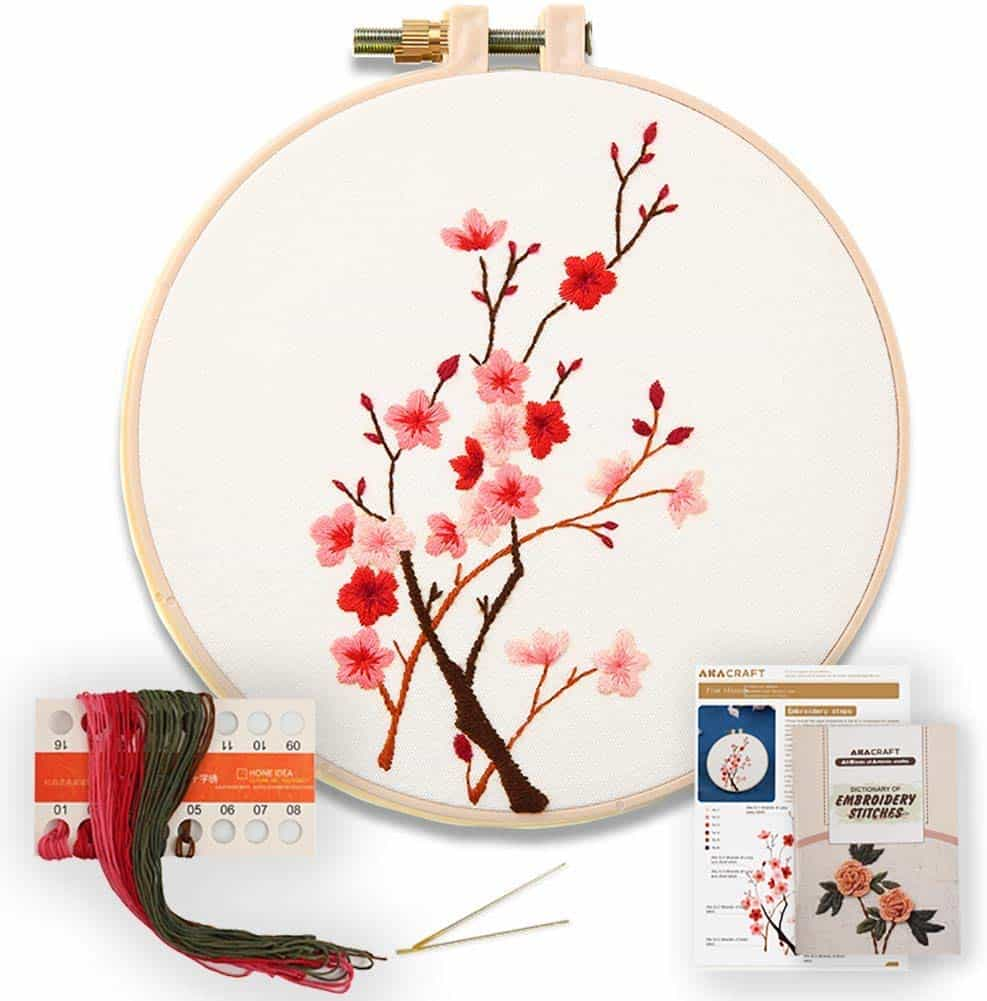 Akacraft diy embroidery starter kit