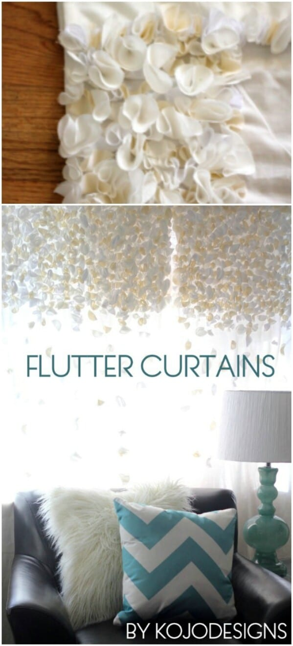 Beautiful flutter curtains