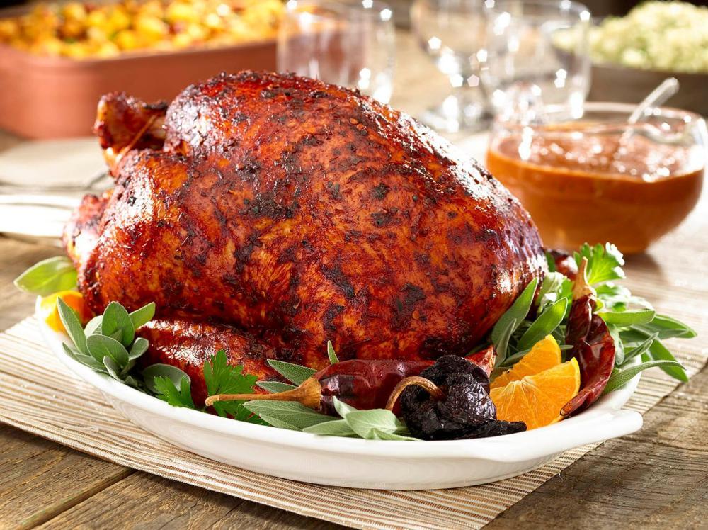 Chile rubbed turkey recipe