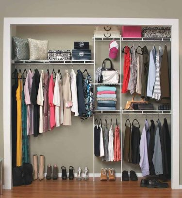Closetmaid 1628 closet organizer kit