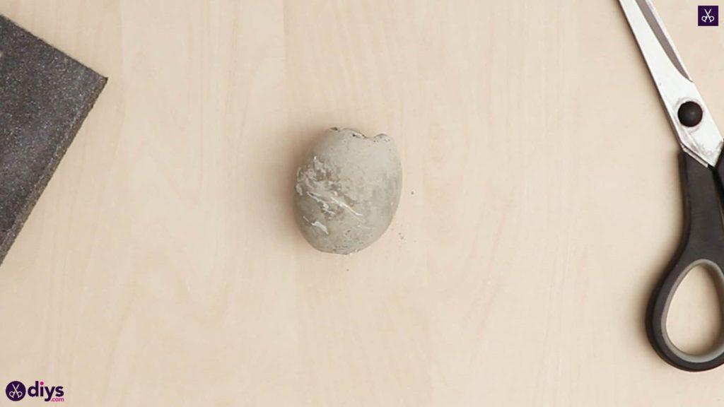 Concrete egg decoration egg concrete