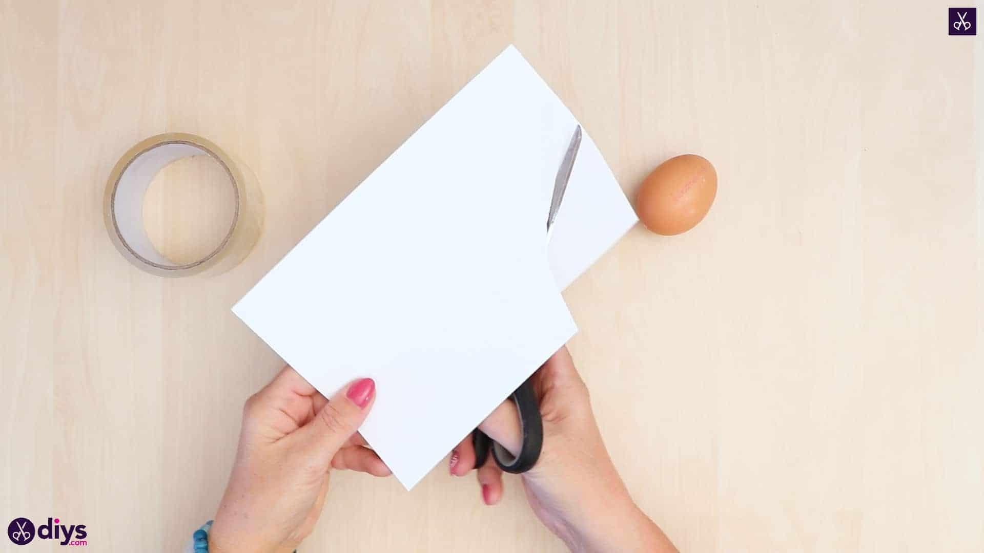 Concrete egg decoration paper