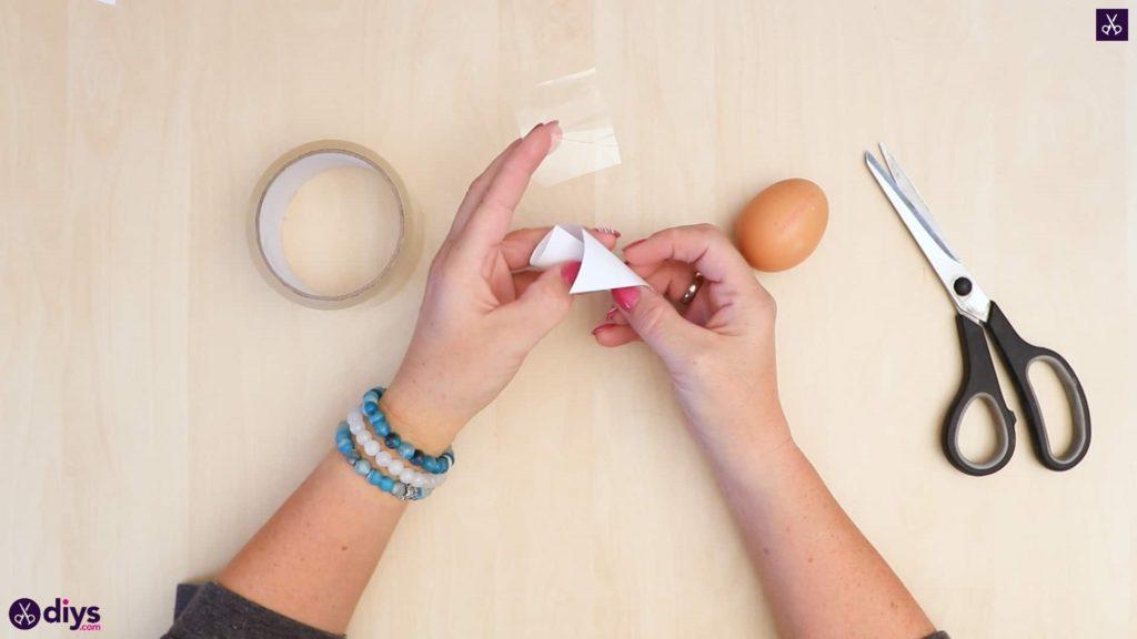 Concrete egg decoration wrap paper