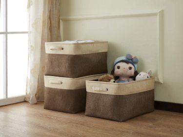 Decomomo extra large foldable storage bin