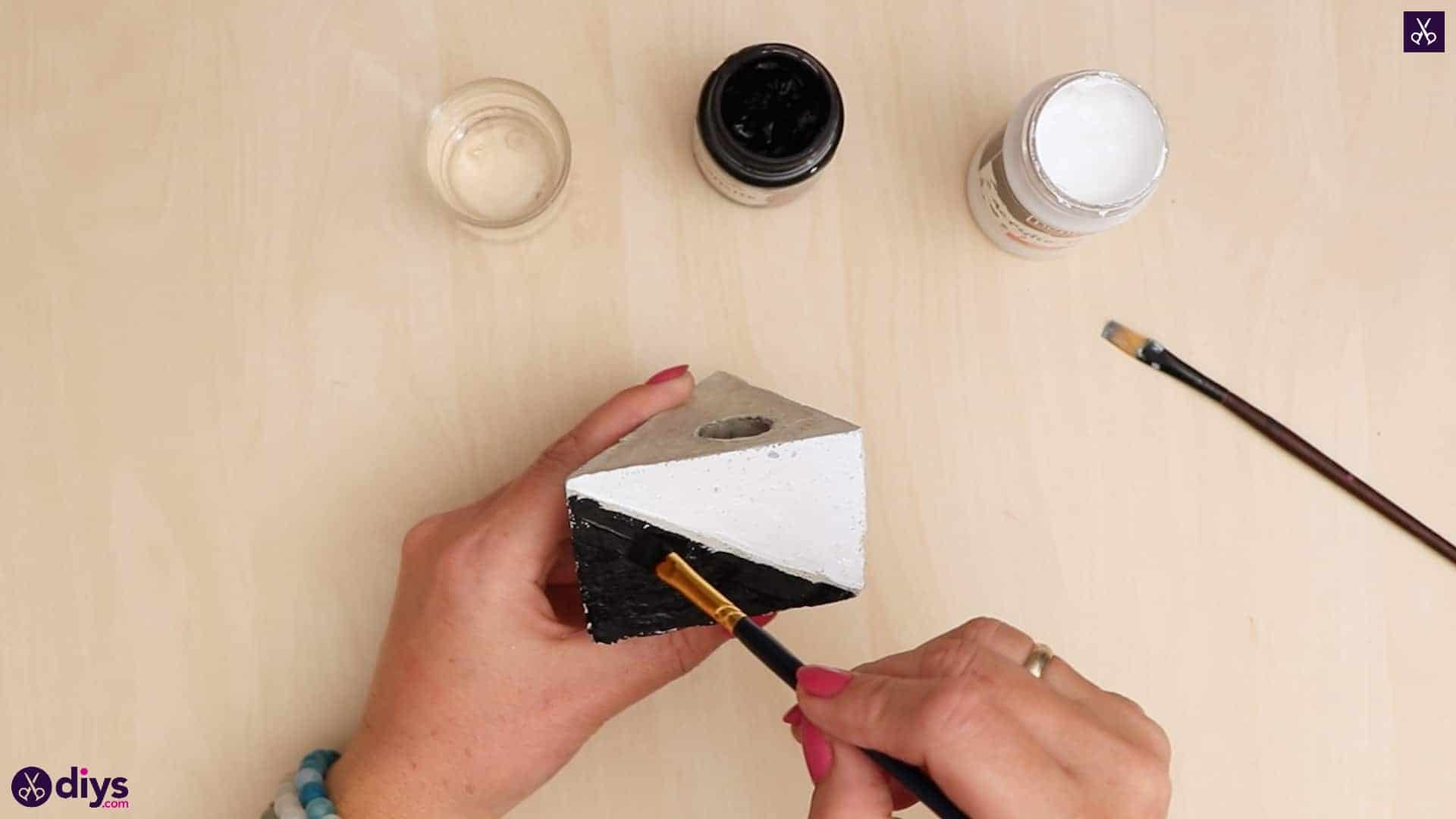 Diy concrete reed diffuser block