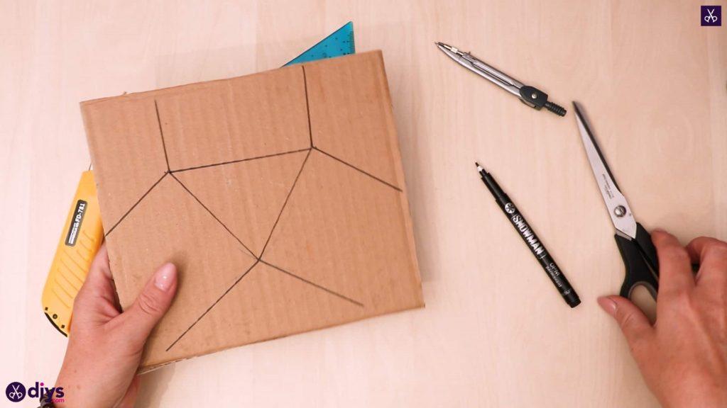 Diy concrete reed diffuser cardboard