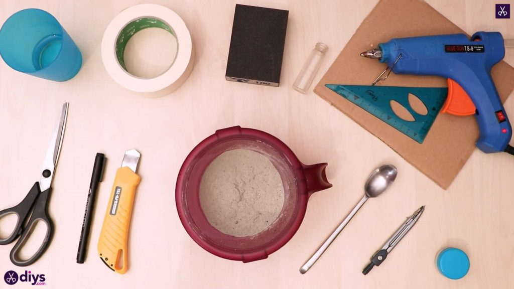 Diy concrete reed diffuser materials