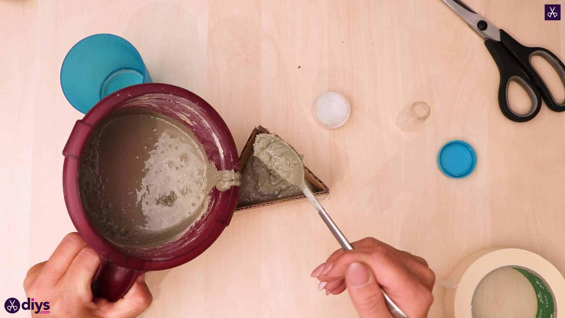 Diy concrete reed diffuser pour concrete
