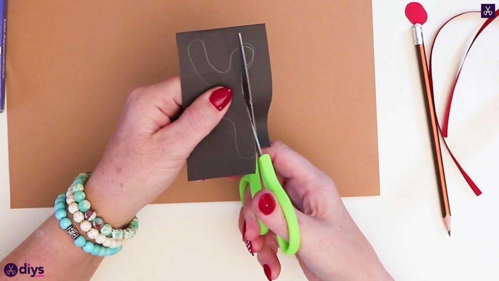 Diy reindeer gift wrap for christmas fold cut