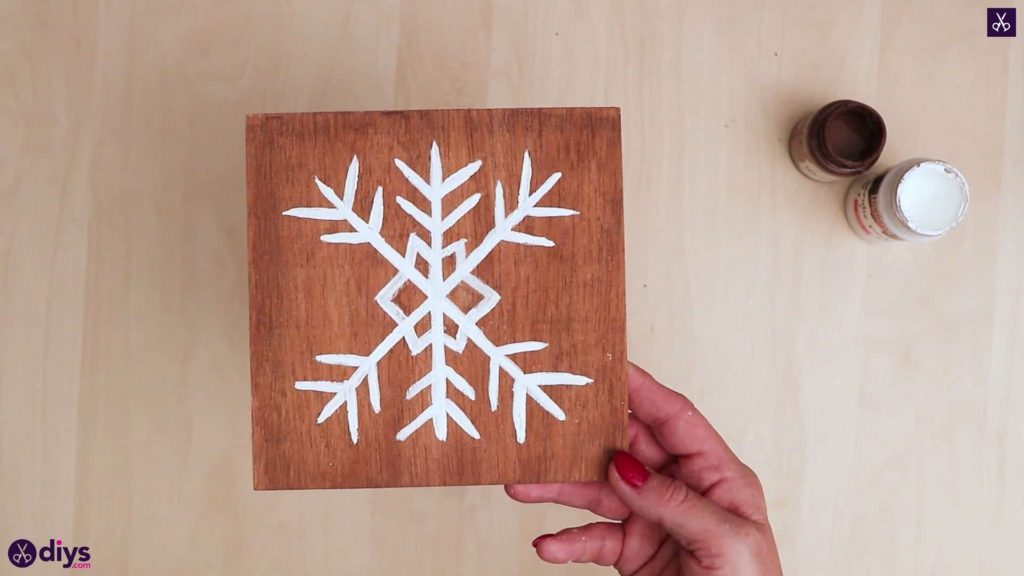 Diy snowflake art christmas decoration