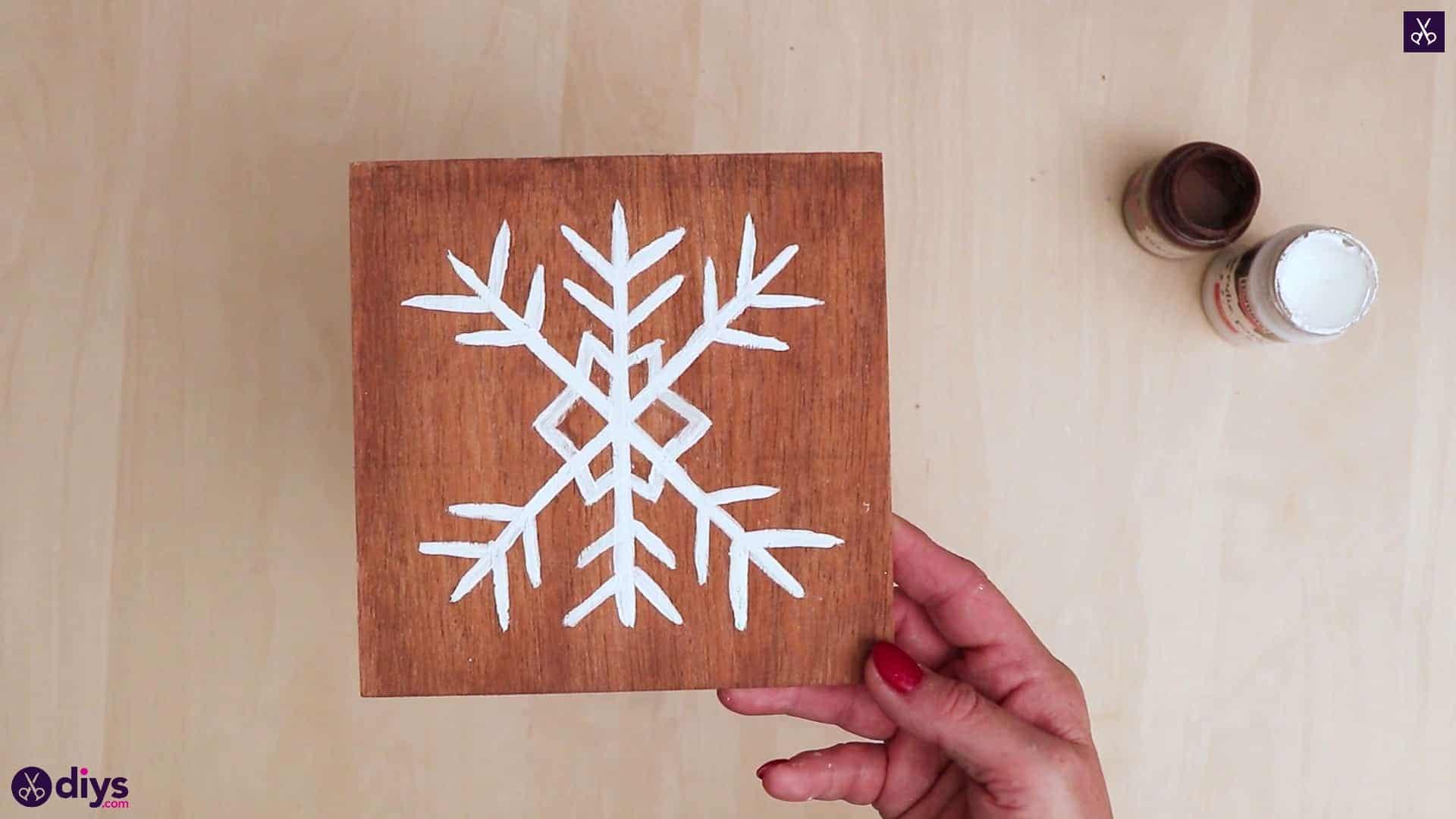 Diy snowflake art christmas decoration