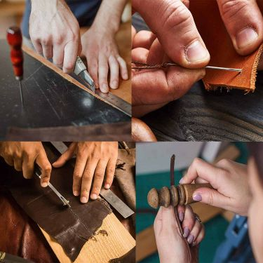 Dorhui leather working tools kit