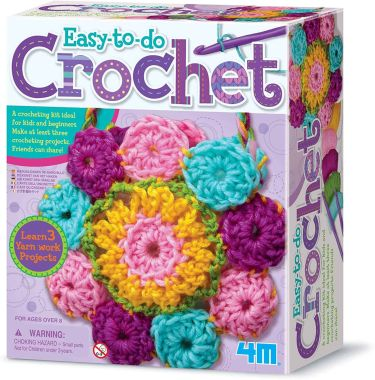 Easy to do crochet kit by 4m