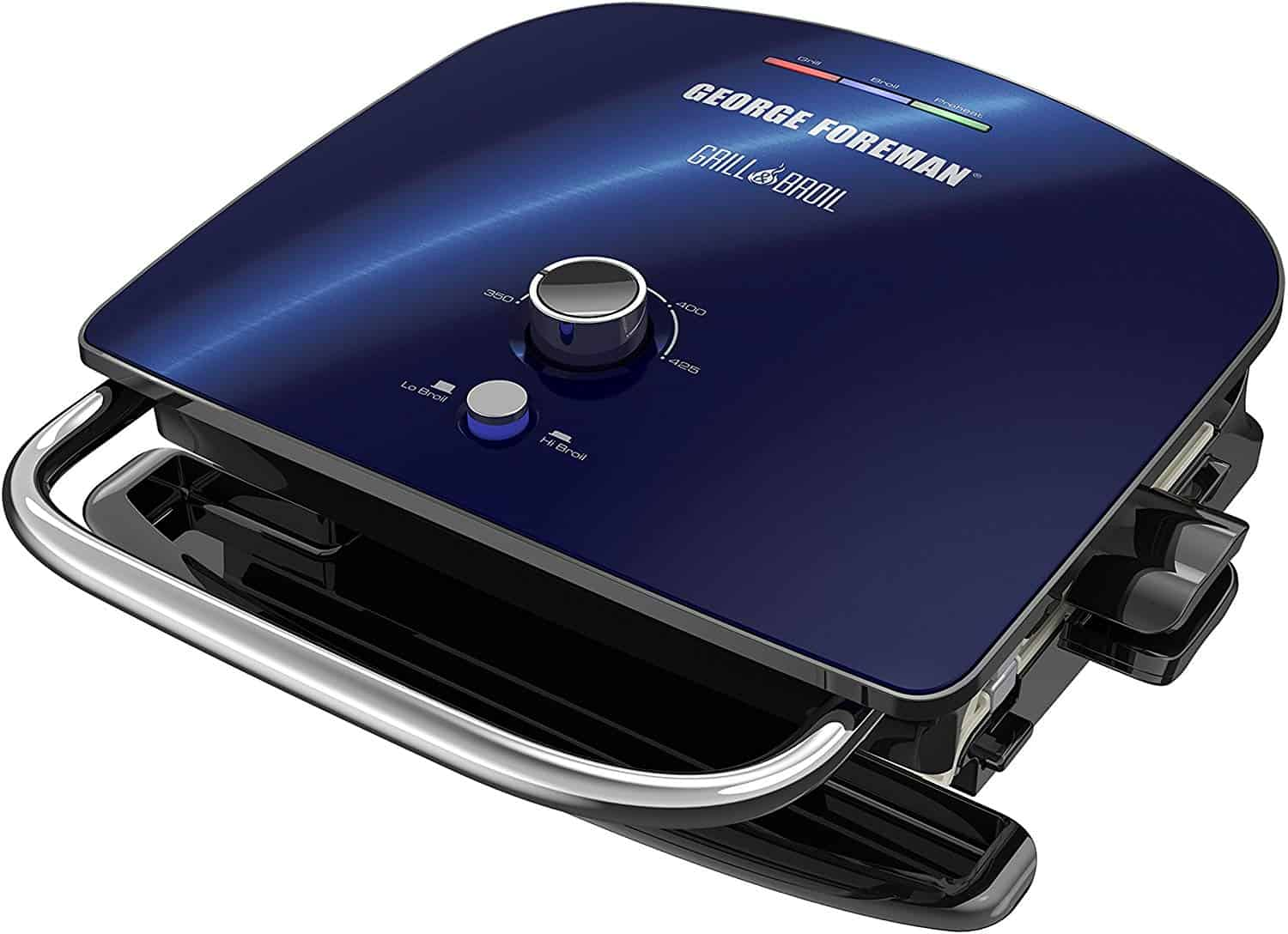 George foreman gbr5750scbq grill & broil 7 in 1 electric indoor gril