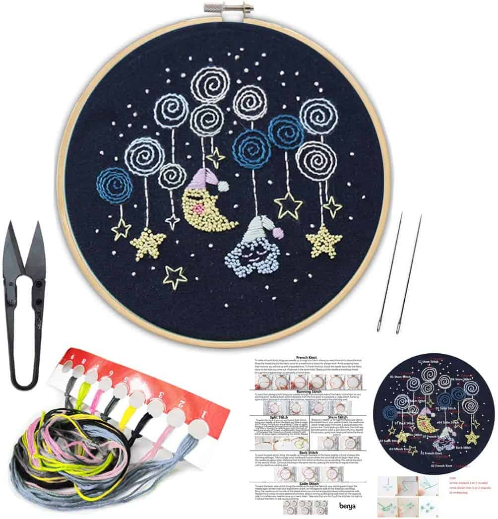 Goodnight series needlepoint kit