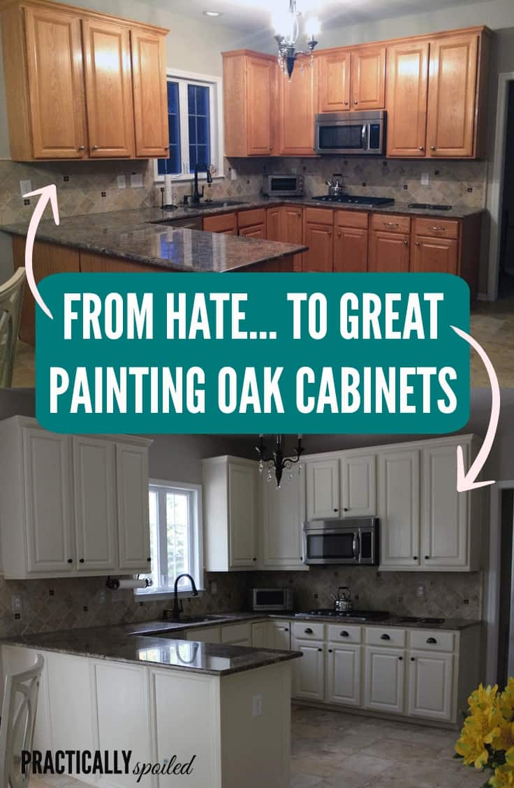 How to paint stained and glazed oak solid white