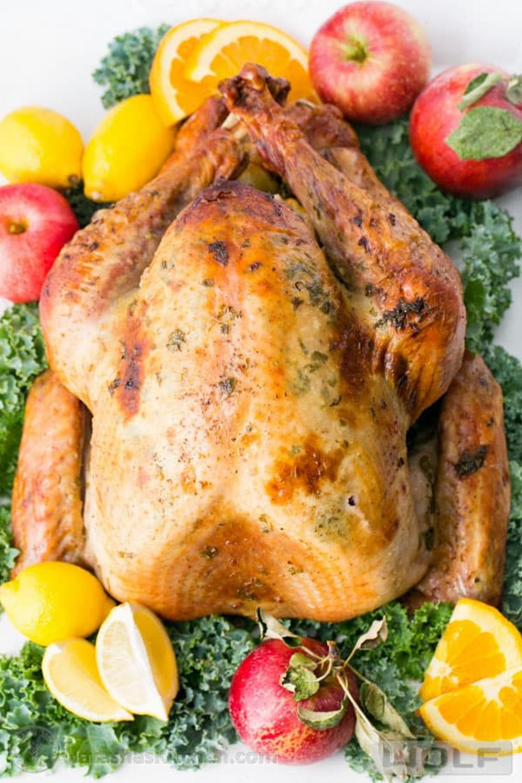 Juicy roast turkey thanksgiving turkey recipe