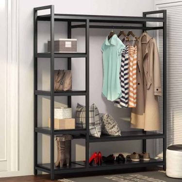 Little tree free standing closet organizer