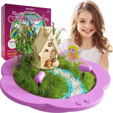 Light up fairy garden kit