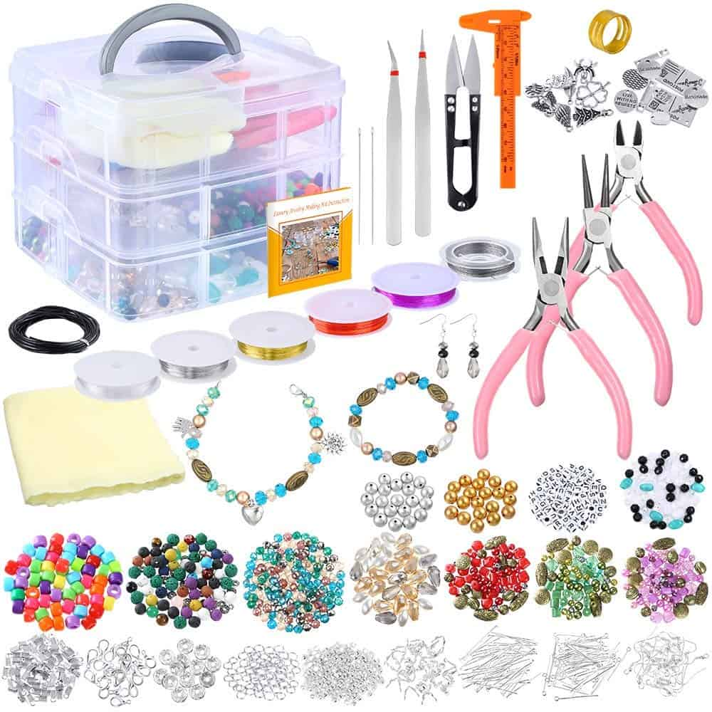 Pp opount deluxe jewelry making supplies kit