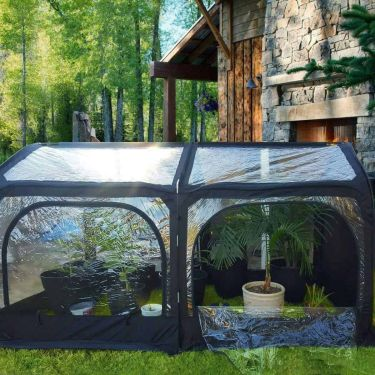 Quintcent pop up greenhouse
