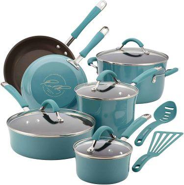 Rachael ray cucina nonstick cookware pots & pans