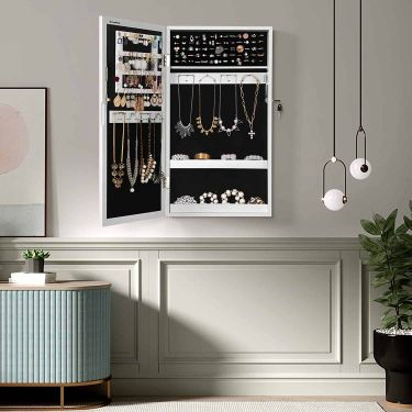 Songmics small jewelry cabinet