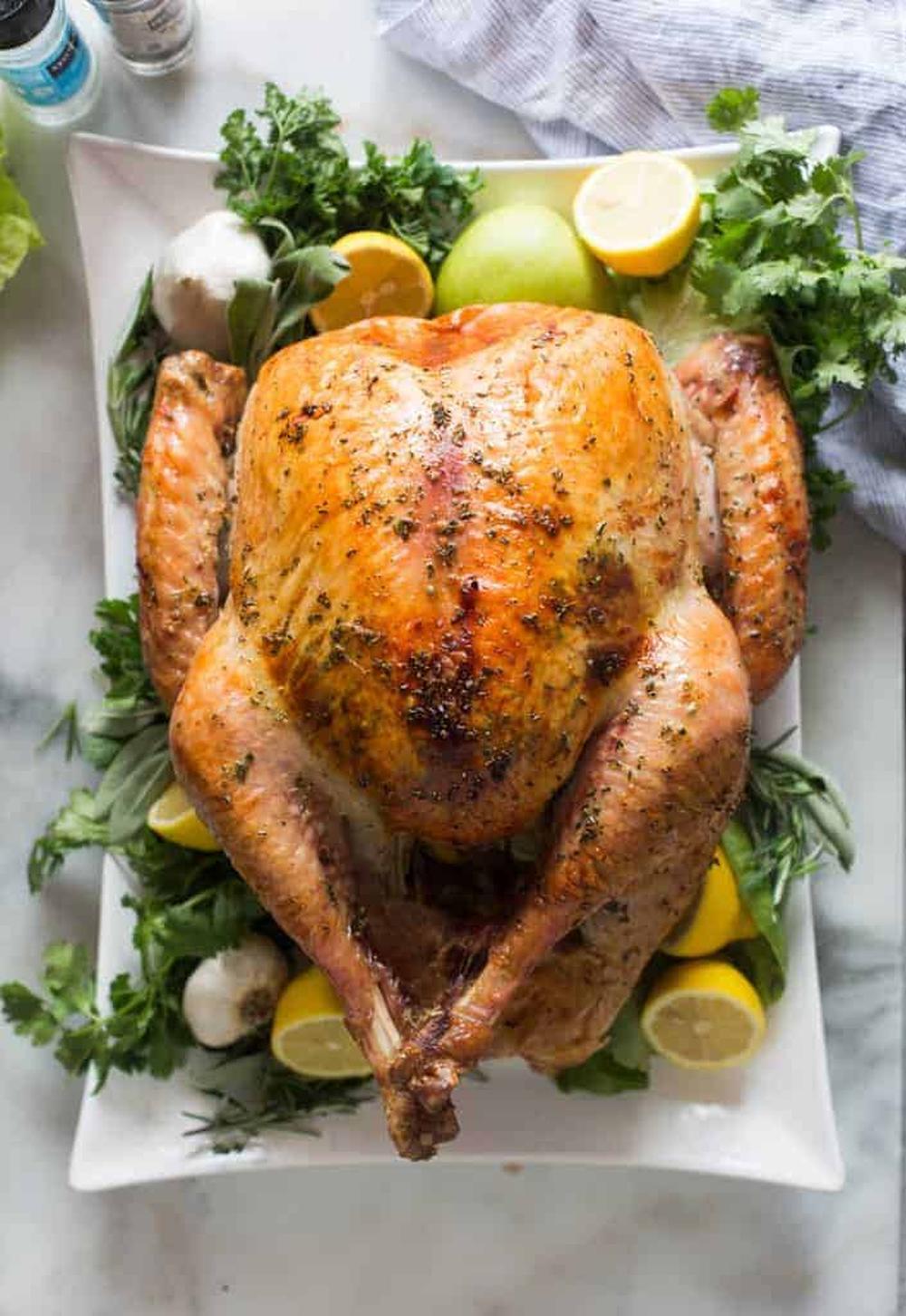 Simple roasted turkey recipe