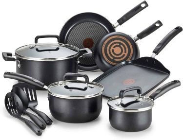 T fal signature nonstick dishwasher safe cookware set