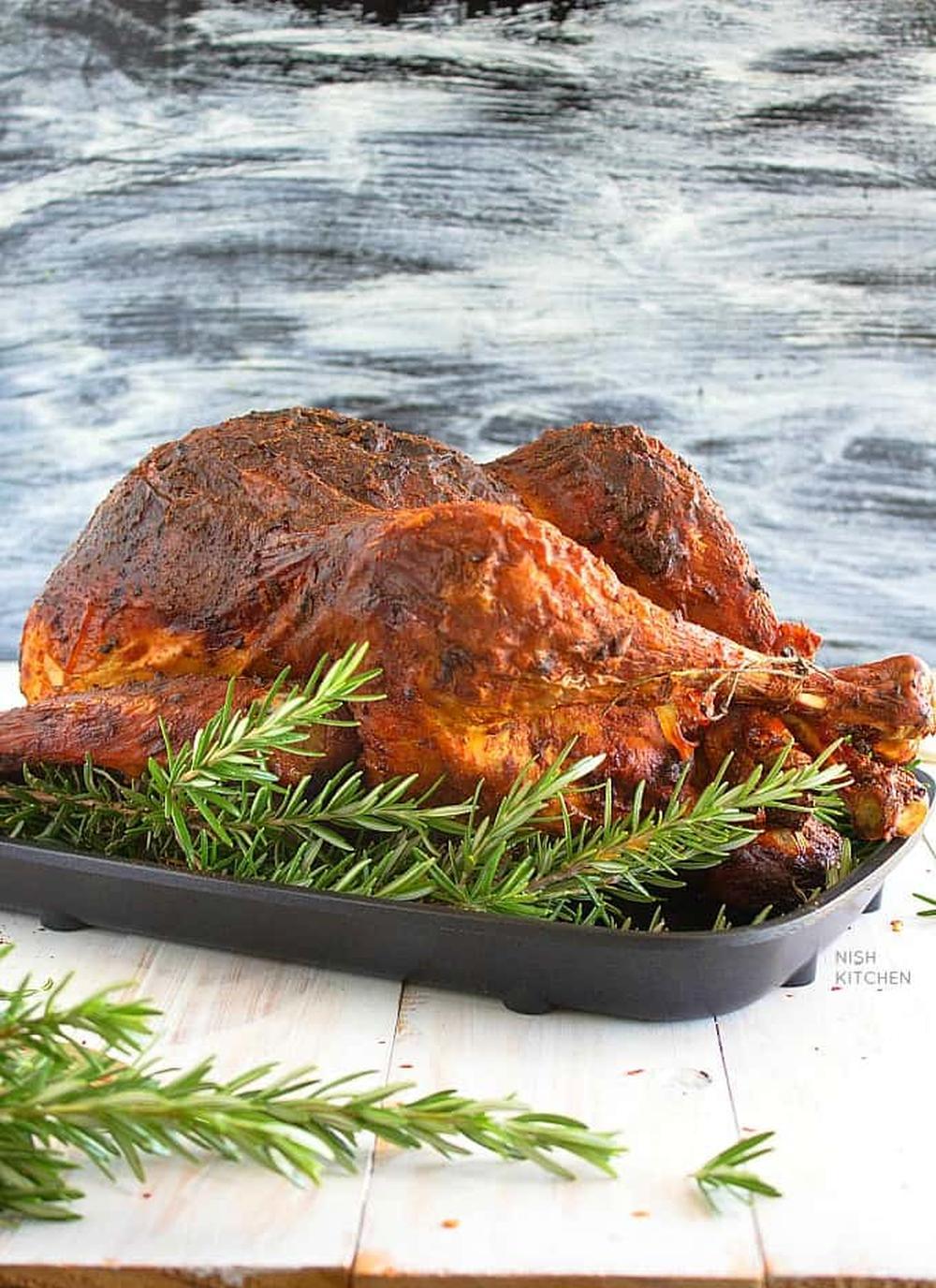 Tandoori turkey with homemade gravy best thanksgiving turkey recipe
