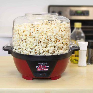 West bend stir crazy electric hot oil popcorn popper
